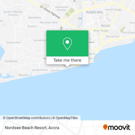 Nordsee Beach Resort map