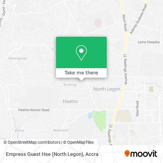Empress Guest Hse (North Legon) map