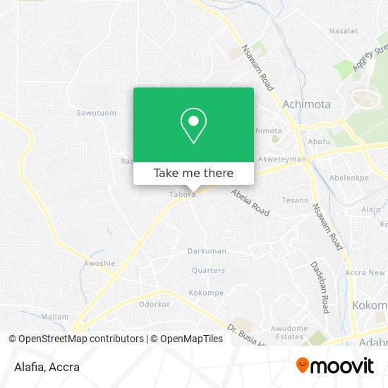 Alafia map