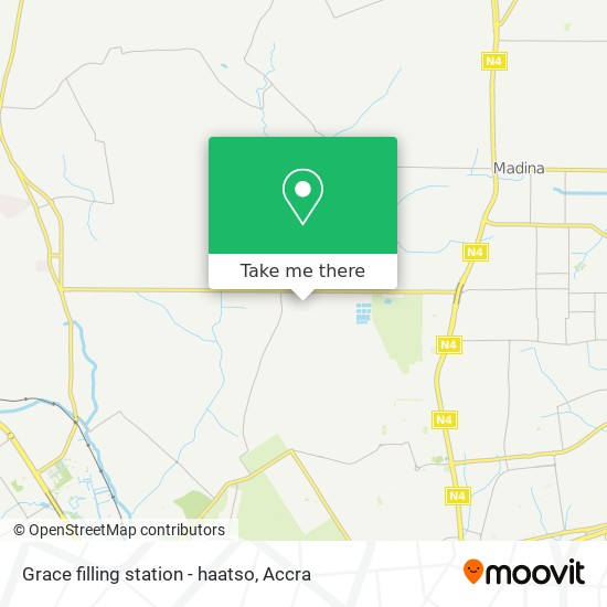 Grace filling station - haatso map