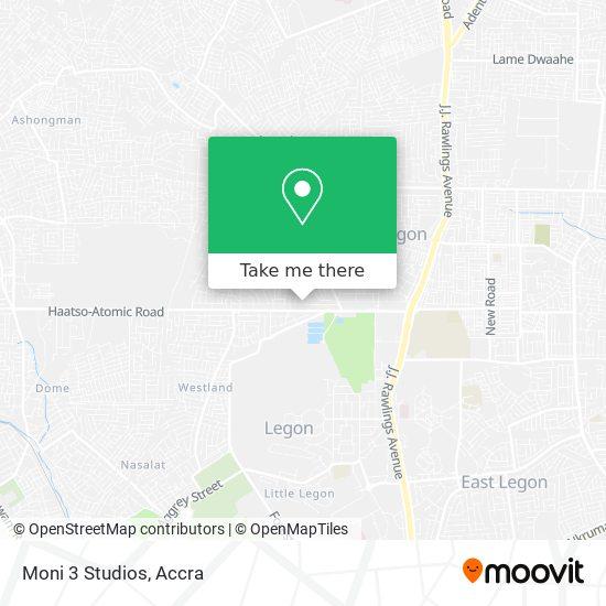 Moni 3 Studios map