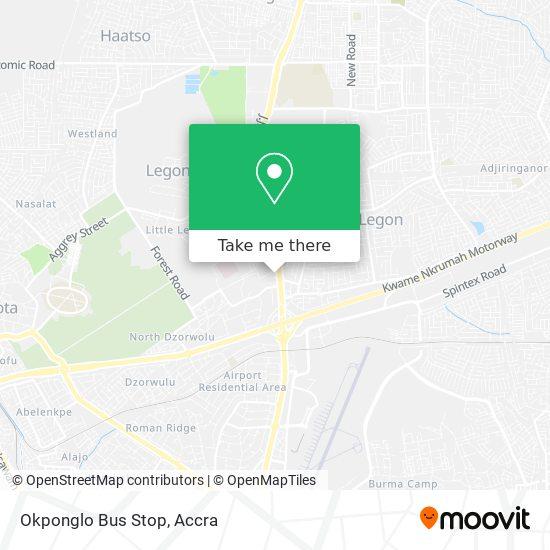 Okponglo Bus Stop map