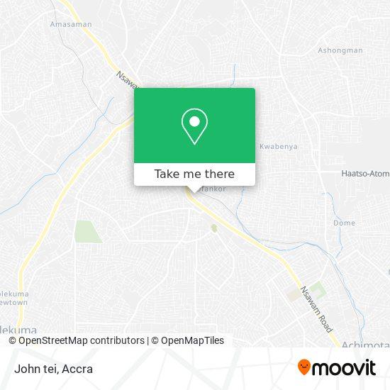 John tei map