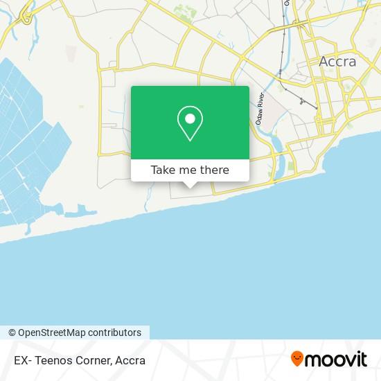 EX- Teenos Corner map