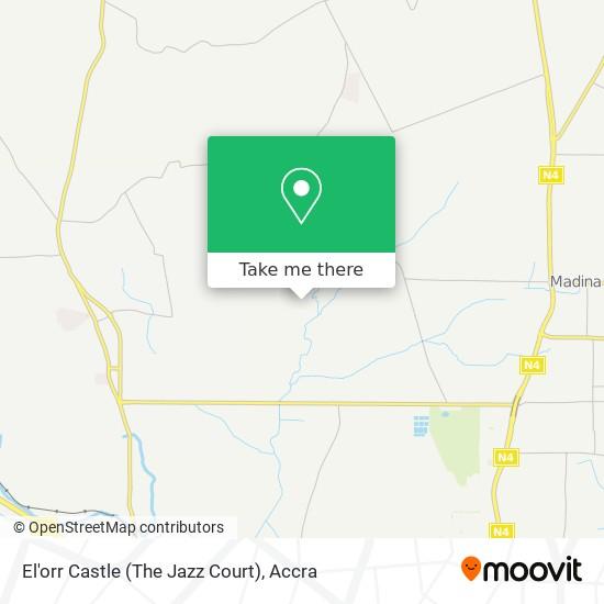 El'orr Castle (The Jazz Court) map
