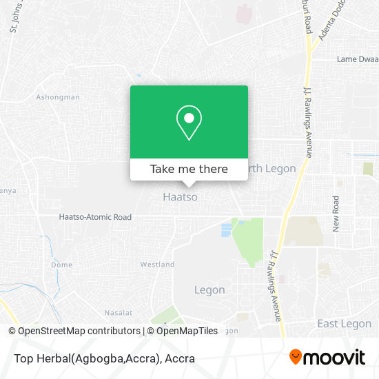 Top Herbal(Agbogba,Accra) map