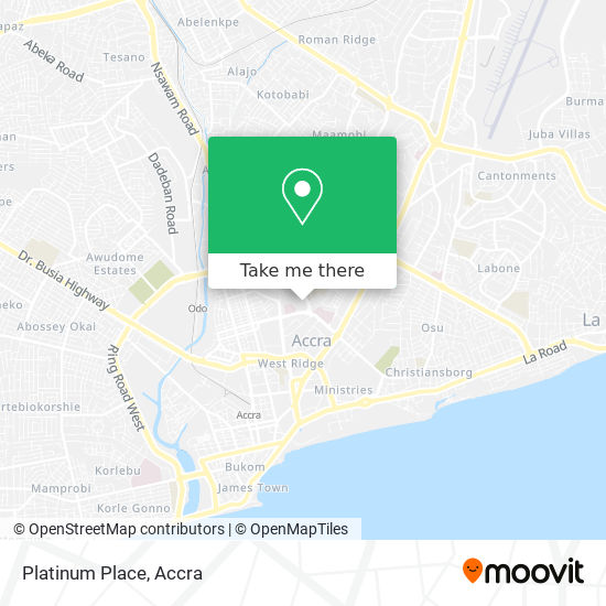 Platinum Place map