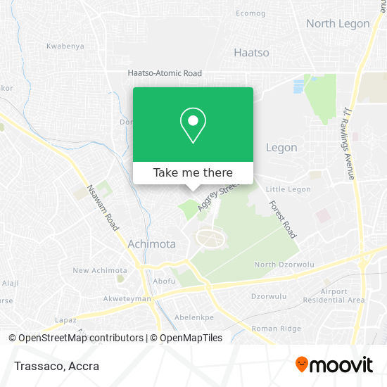 Trassaco map