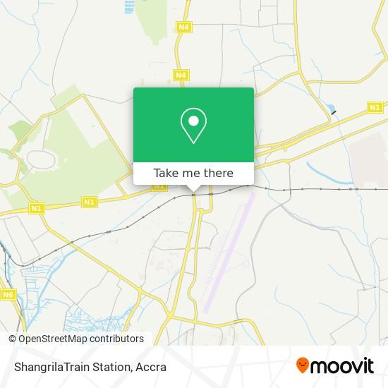 ShangrilaTrain Station map
