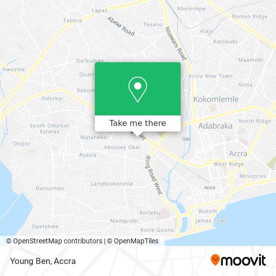 Young Ben map