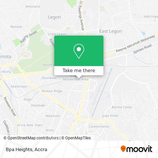 Bpa Heights map