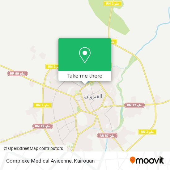 Complexe Medical Avicenne plan