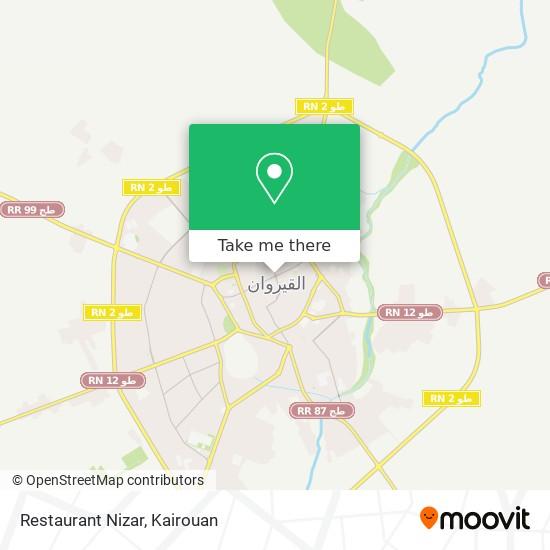 Restaurant Nizar plan