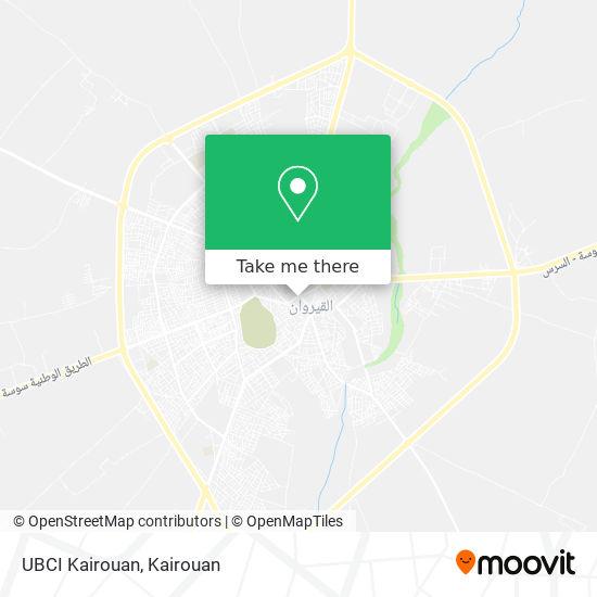 UBCI Kairouan plan