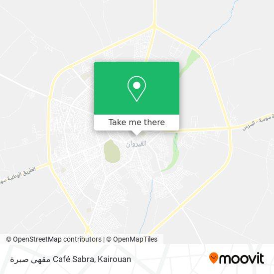 مقهى صبرة Café Sabra plan