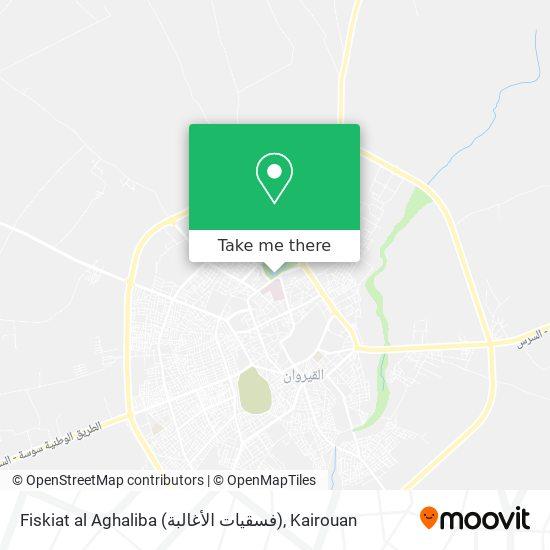 Fiskiat al Aghaliba (فسقيات الأغالبة) plan