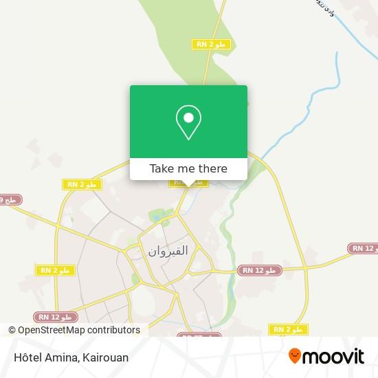 Hotel Amina plan