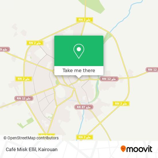 Café Misk Ellil plan
