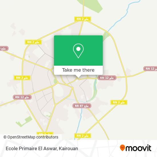 Ecole Primaire El Aswar plan