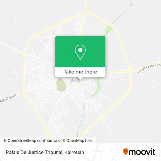 Palais De Justice Tribunal plan