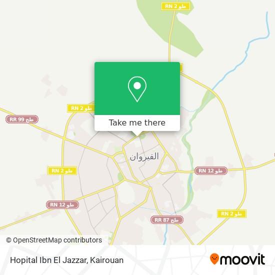 Hopital Ibn El Jazzar plan