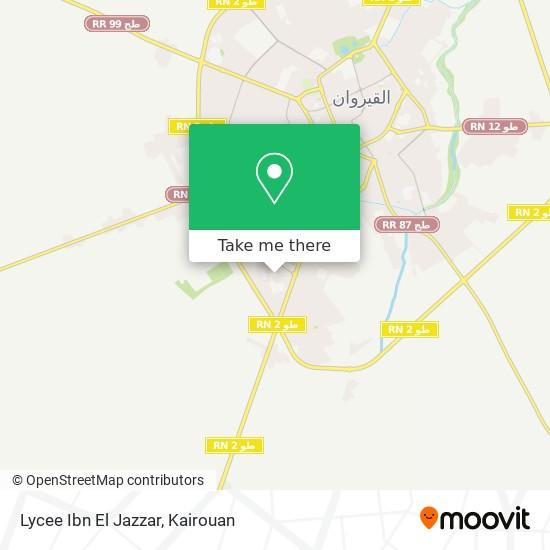 Lycee Ibn El Jazzar plan