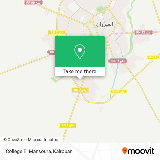 Collége El Mansoura plan