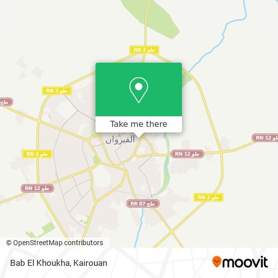 Bab El Khoukha plan