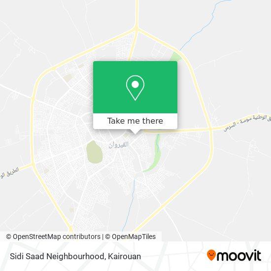 Sidi Saad Neighbourhood plan