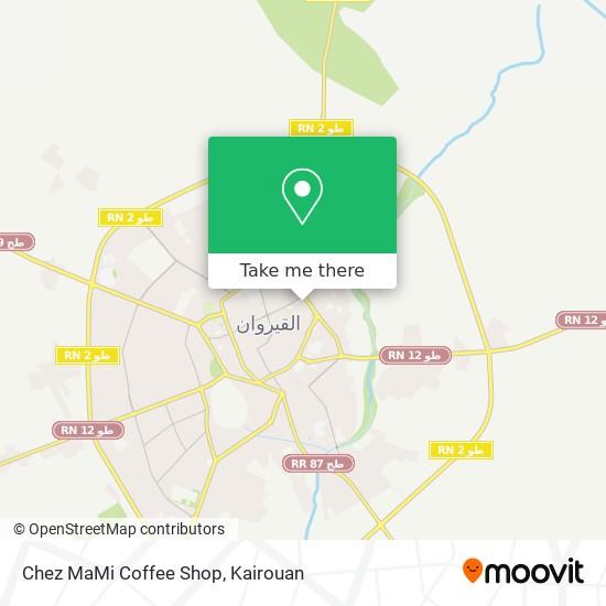 Chez MaMi Coffee Shop plan