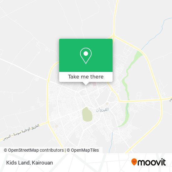 Kids Land plan