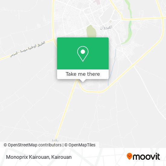 Monoprix Kairouan plan