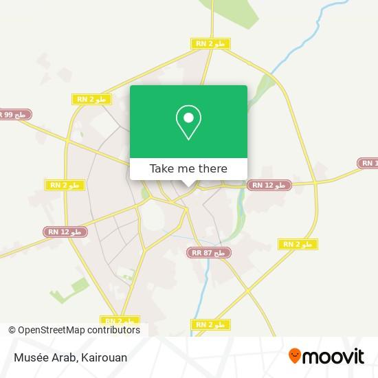 Musée Arab plan