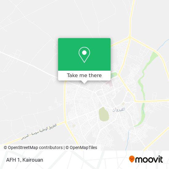 AFH 1 plan