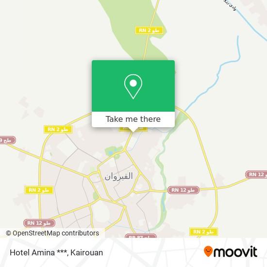 Hotel Amina *** plan