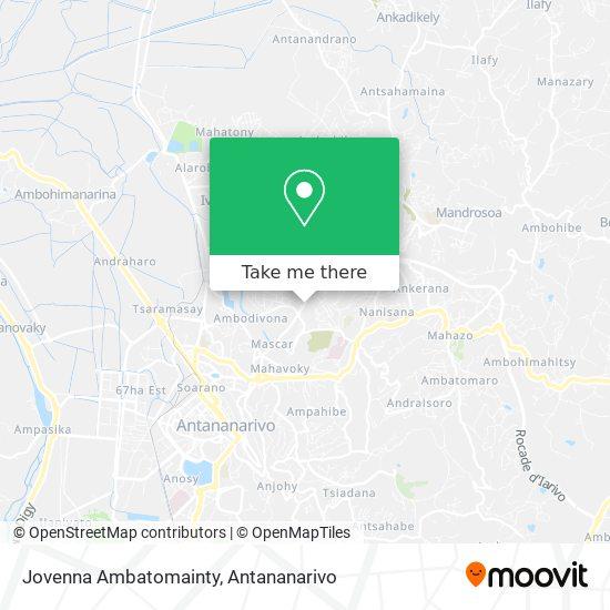 Jovenna Ambatomainty map