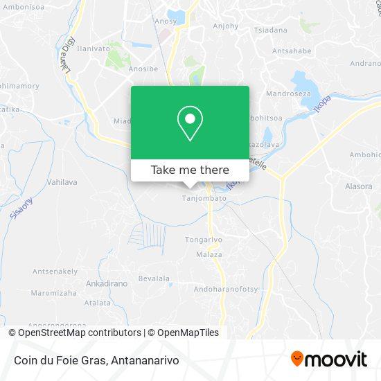 Coin du Foie Gras map