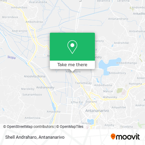 Shell Andraharo map