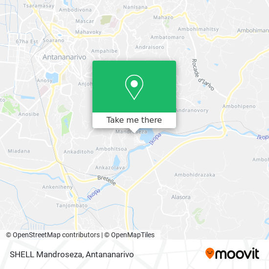 SHELL Mandroseza map