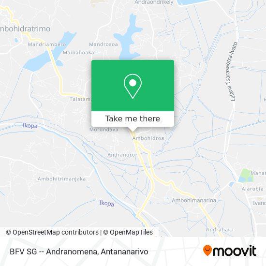 BFV SG -- Andranomena map