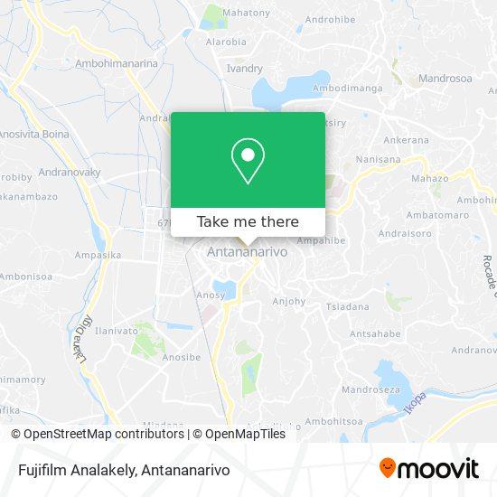 Fujifilm Analakely map