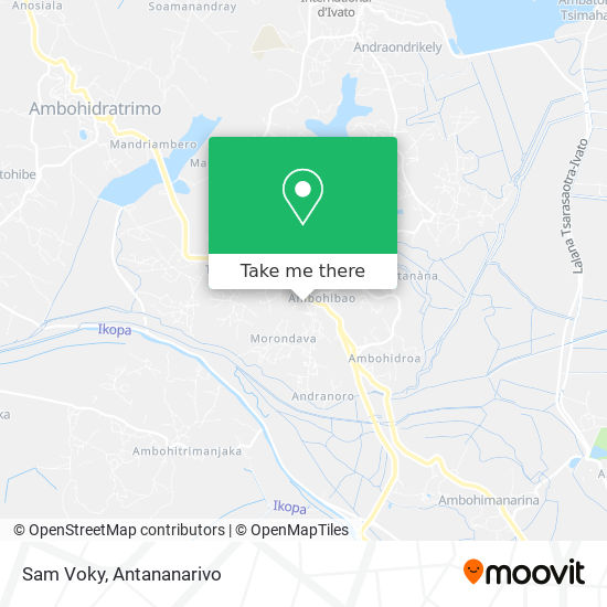 Sam Voky map