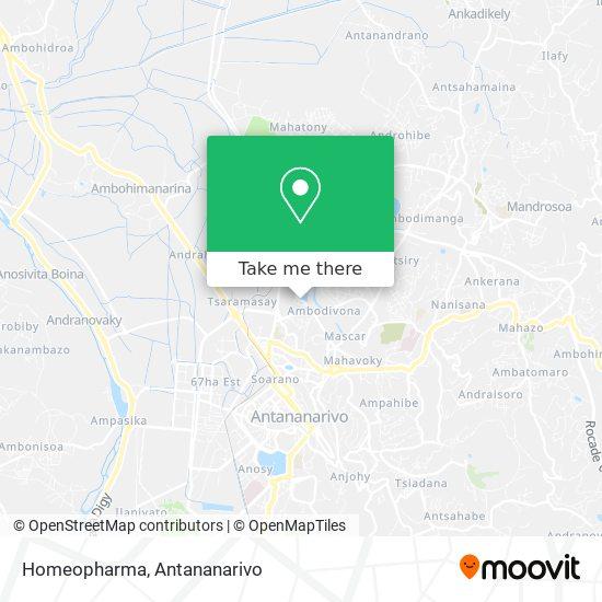 Homeopharma map