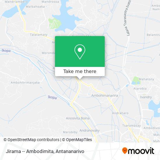 Jirama -- Ambodimita map