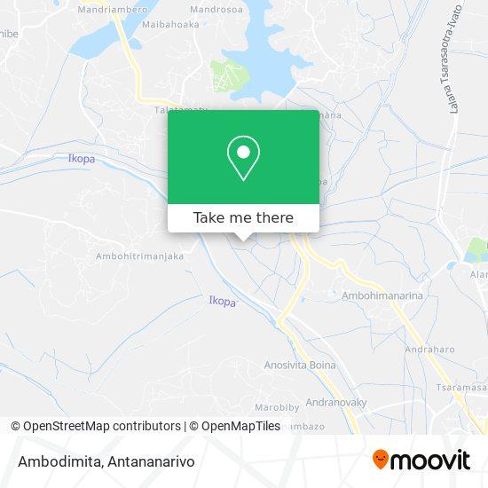 Ambodimita map