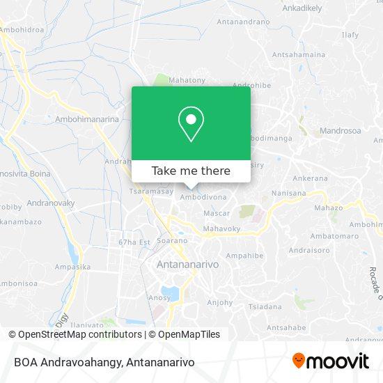 BOA Andravoahangy map