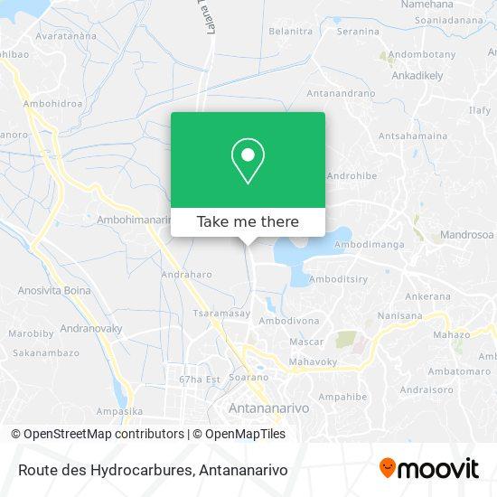Route des Hydrocarbures map
