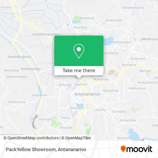 PackYellow Showroom map