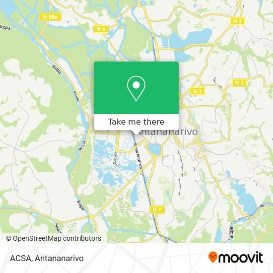 ACSA map