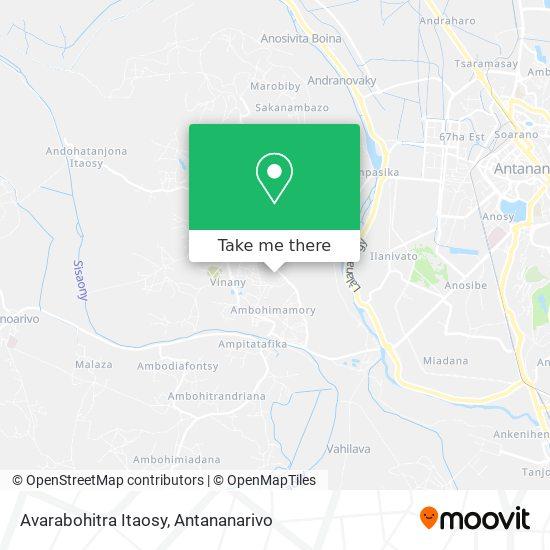 Avarabohitra Itaosy map
